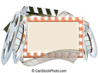bio, film, underteckna