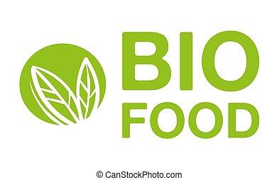 Bio food logo