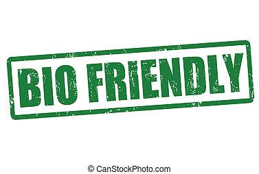Bio friendly stamp
