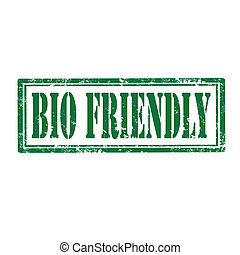 Bio Friendly-stamp