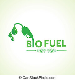 Bio fuel concept with nozzle