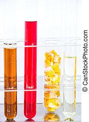 bio-fuel, de, maíz, semillas, hecho, en, laboratorio