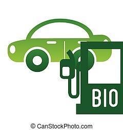 bio fuel design, vector illustration eps10 graphic
