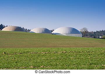 Bio Gas Production - Facility for bio energy production