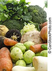 bio, grönsaken
