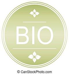 Bio Green label