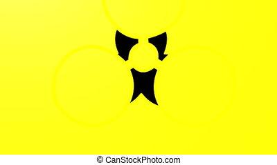Bio Hazard - Computer generated image. HD 16:9 1920 x 1080 @...