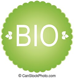 bio, icon., 緑