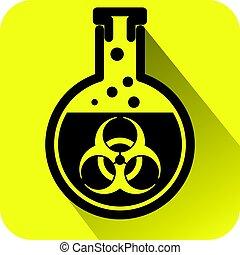 bio, kockázat, felszólít cégtábla