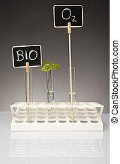 bio laboratory concept