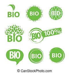 bio, logo
