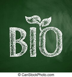 bio, meldingsbord, pictogram