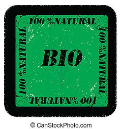 Bio natural stamp
