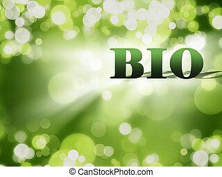 bio nature concept