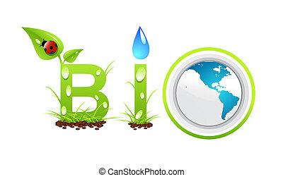 bio, pojęcie, słowo