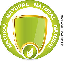 Bio product guarantee badge