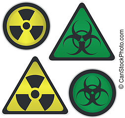 bio, radiation, danger