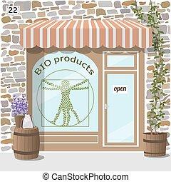 bio, shop., プロダクト, 有機体である, store.