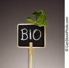bio sign concept
