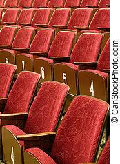 bio, sittplatser
