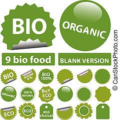 bio, stickers