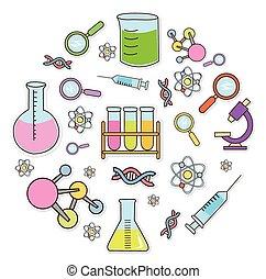 bio, tecnología, objeto