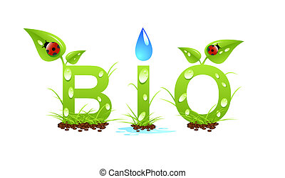 Bio word concept