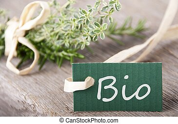 bio, zielony, etykieta