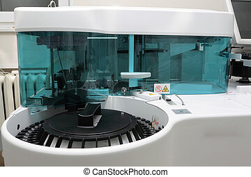 Biochemical analyzer. Professional laboratory equipment.