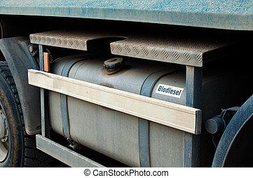 biodiesel, zbiornik