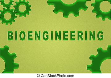 bioengineering, concept, -, scientifique