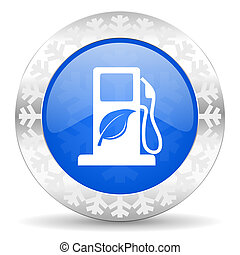biofuel christmas icon