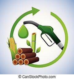 biofuel ecology alternative - biofuel pump drop sugarcane...