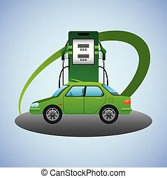 biofuel ecology alternative - biofuel station pump car...