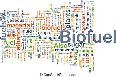 Biofuel fuel background concept