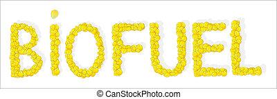 Biofuel inscription
