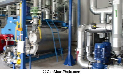 biogas generator sludge - Big biogas generators in water...