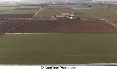 Biogas Plant, Aerial View