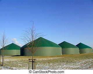 Biogas plant in Roeddelin