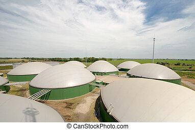 Biogas plant - Getting elektroenergii on biogas plant