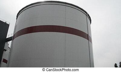 biogas plant sludge