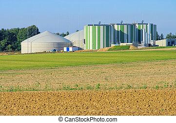 biogas, planta