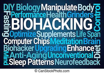 Biohacking Word Cloud