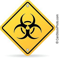 biohazard , μικροβιοφορέας , σήμα
