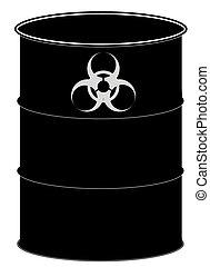 biohazard, barile, segno
