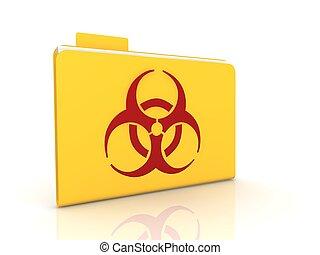 Biohazard concept  - Biohazard concept