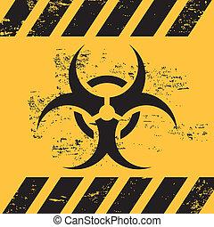 biohazard, ruban