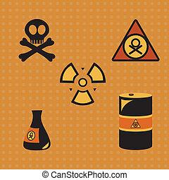 biohazard, silueta