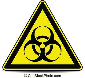 biohazard, sinal.