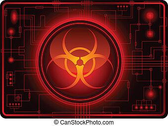 biohazard, sinal
